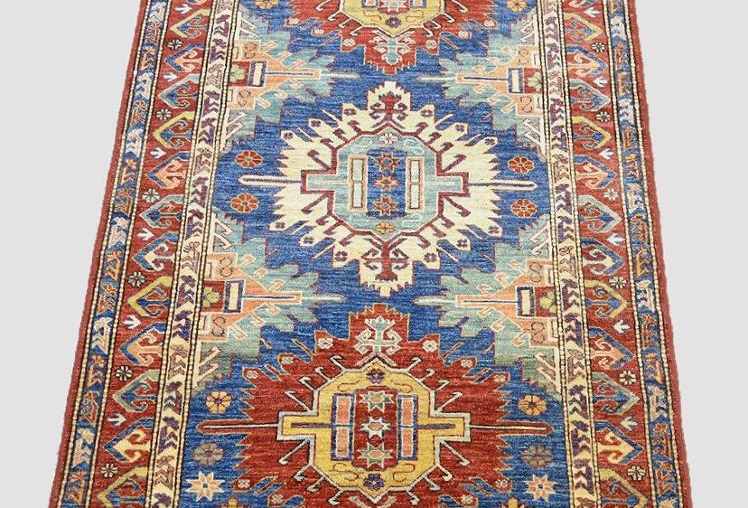 Caucasus Kazak Multicolor Rug