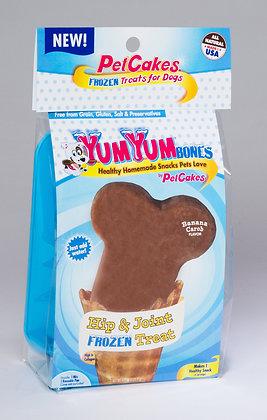 YumYum Bones Ice Cream Kit - Banana Carob Flavor