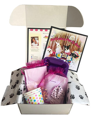 PetCakes Party Box for Dogs (cheese flavor)