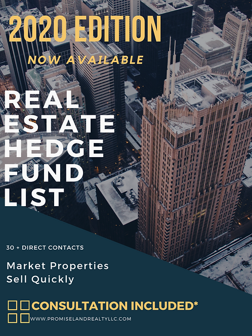Real Estate Hedge Fund Companies List 2020
