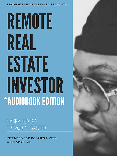Remote Real Estate Investor *Audiobook Edition
