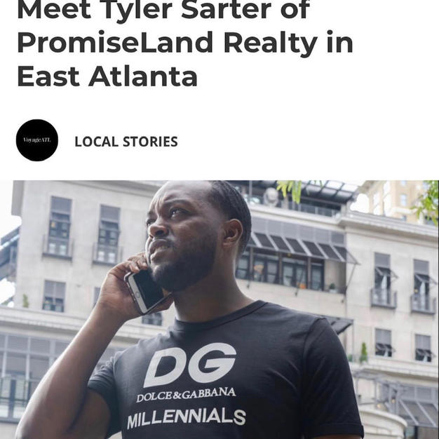 Meet Tyler Sarter Of PromiseLand Realty in East Atlanta