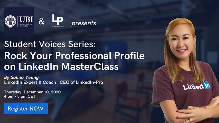 Rock Your Professional Profile on LinkedIn MasterClass