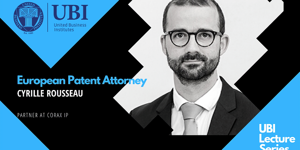 European Patent Attorney by Cyrille Rousseau