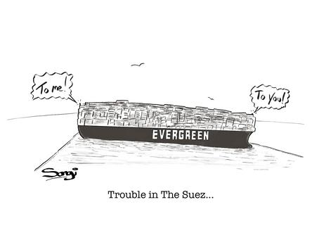 Trouble in the Suez!