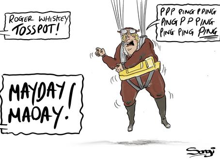 Pilot down!