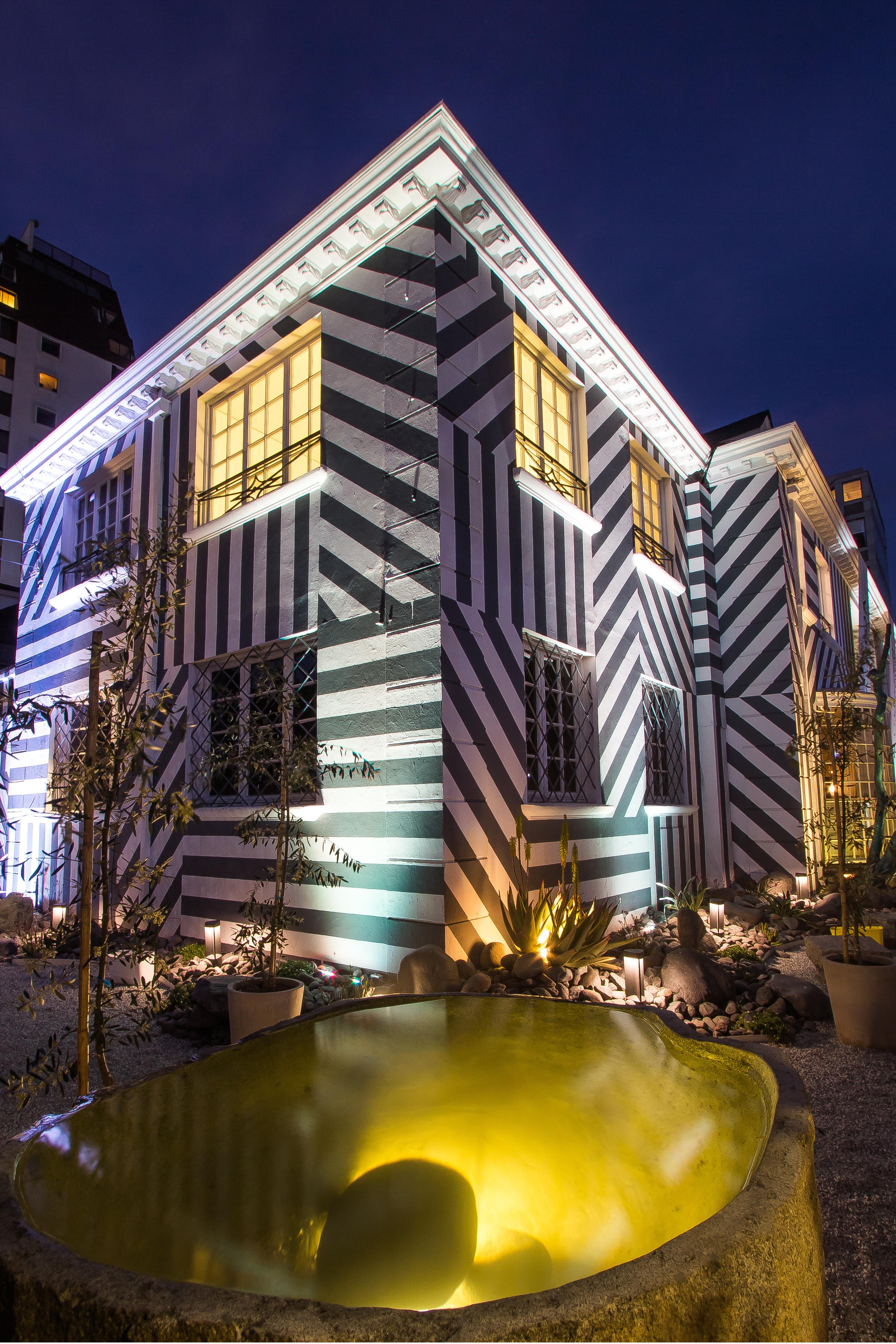 Casa Foa Chile. Lighting Facade