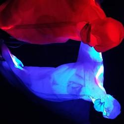 light art, levitation