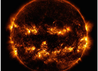 watch this incredible 10-year time lapse of the sun by NASA