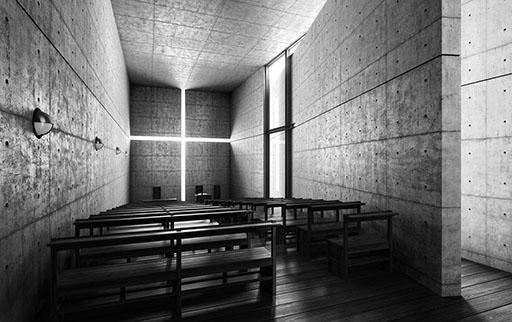 Iglesia de la luz by Tadao Ando