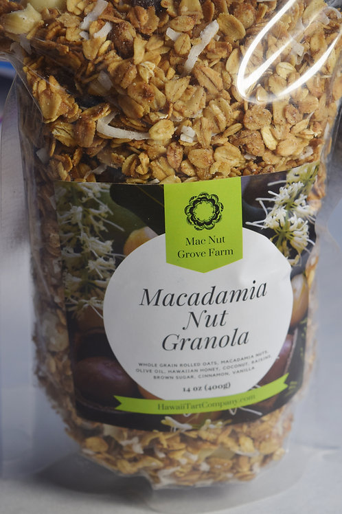 Granola with Macadamia Nuts