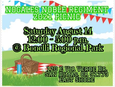 2021 Nogales Noble Regiment Picnic