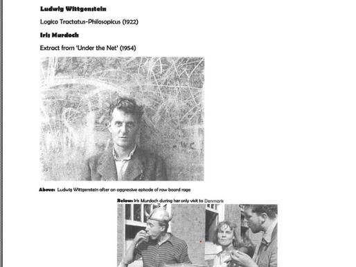 Armchair Philosophy 8 Wittgenstein x Murdoch