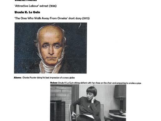 Armchair Philosophy 9 Fourier x Ursula K. Le Guin