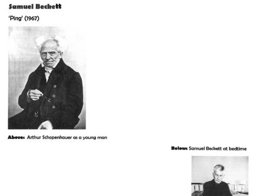 Armchair Philosophy 18 Schopenhauer x Beckett