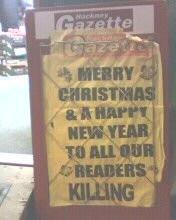 Non-judgemental Seasonal Greetings (2007)