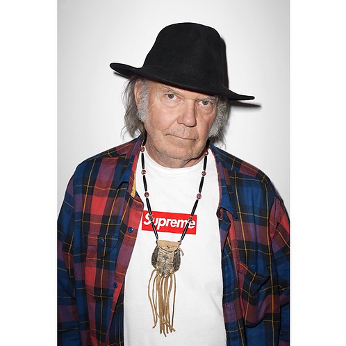 Supreme Neil Young Poster