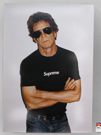 Supreme Lou Reed Poster
