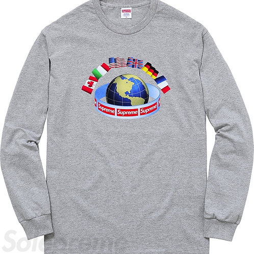 Supreme World Wide Long Sleeve