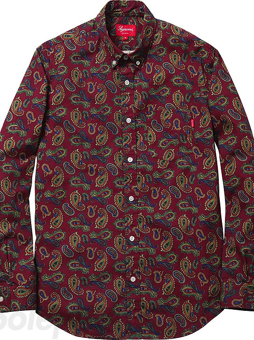 Supreme Paisley Button Up