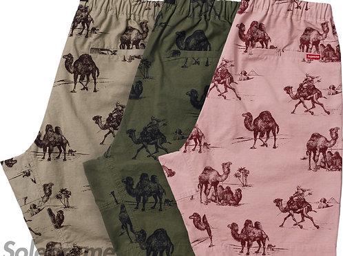 Supreme Camel Shorts
