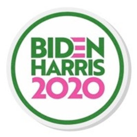Biden Harris Acrylic Pin