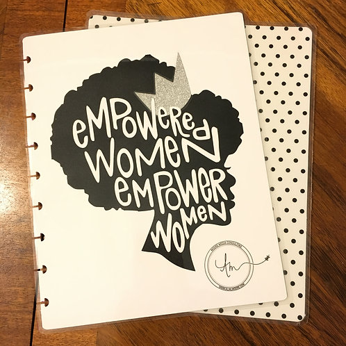 """Empowered"" Happy Planner Classic Cover"