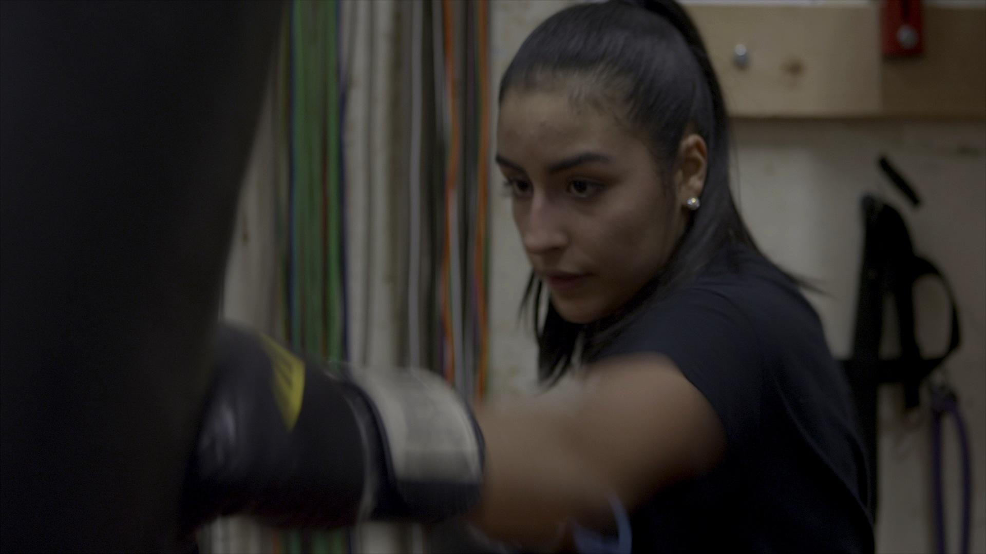 Karyna, 17 White Center PAL boxer