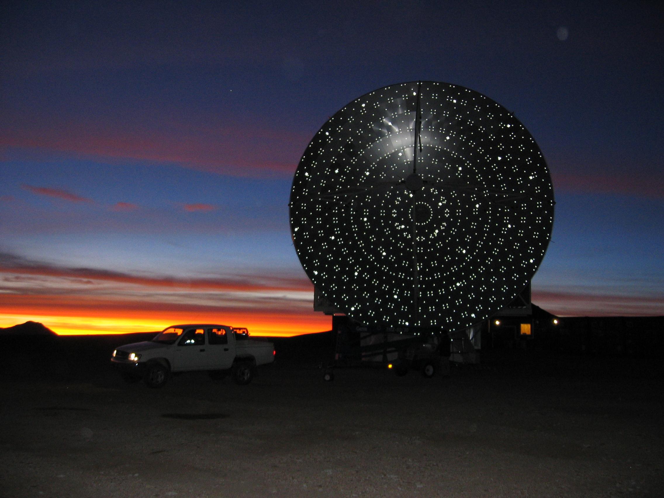 APEX Telescope, Chile