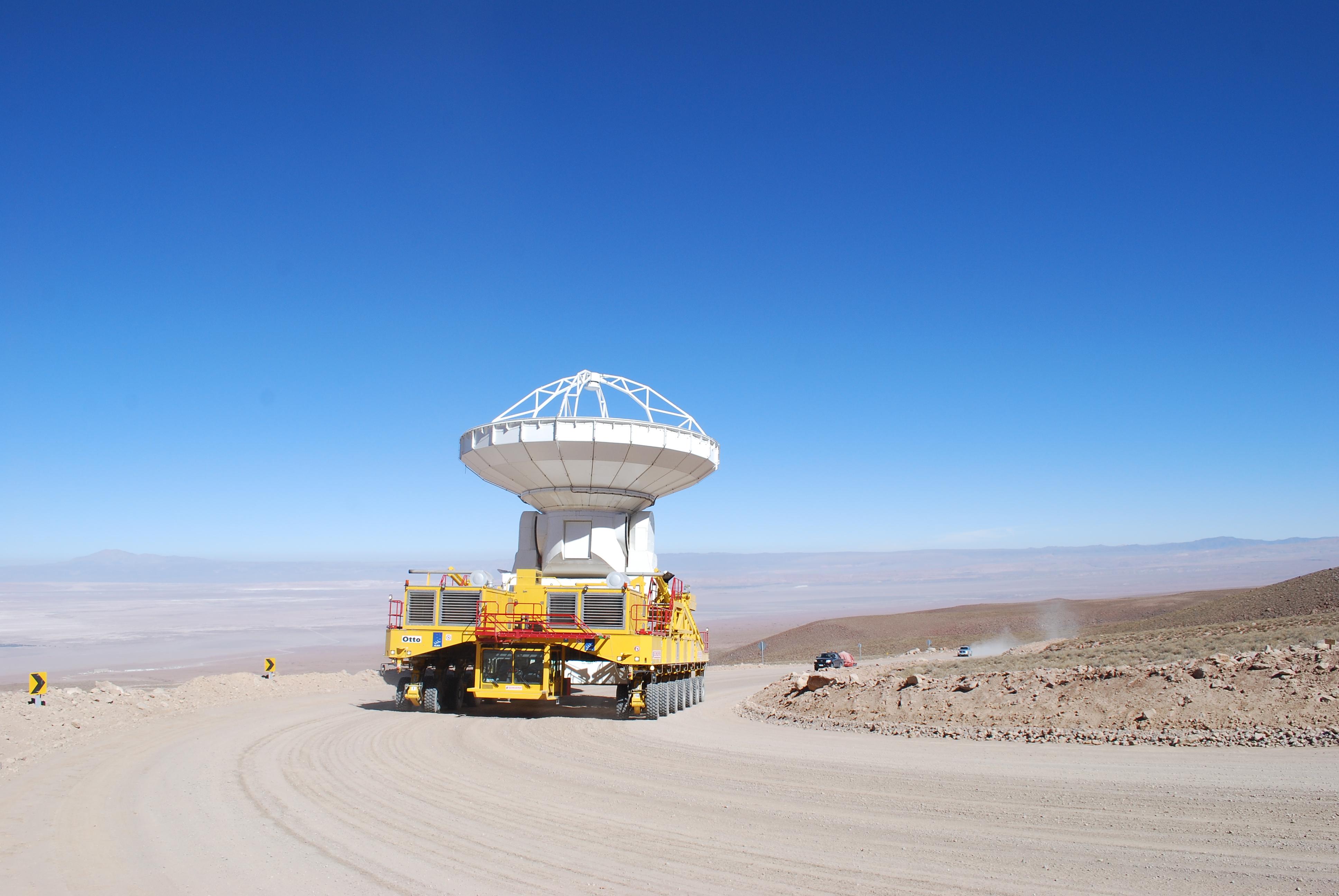 Moving an ALMA Antenna
