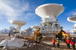 ALMA Telescope, Chile
