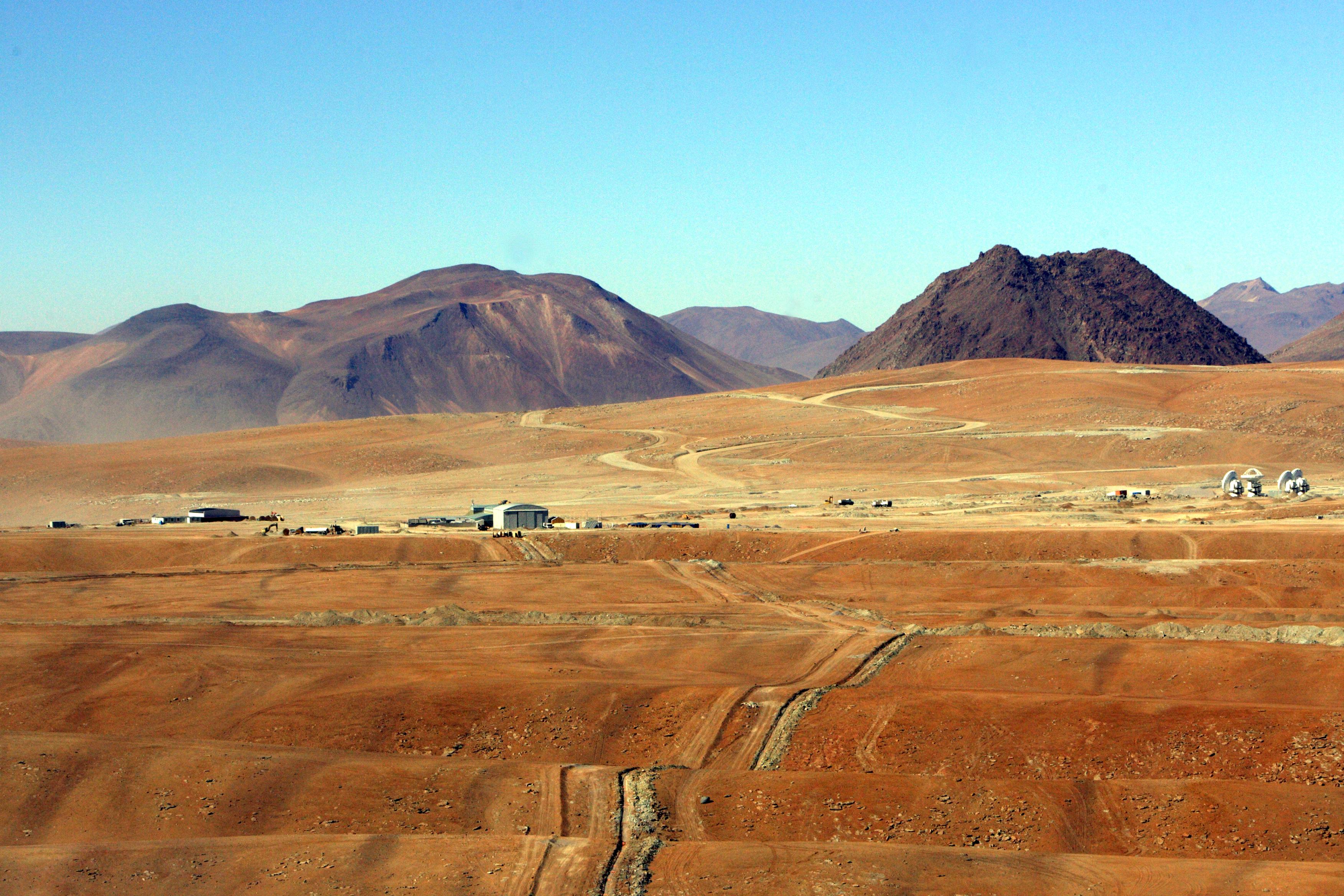 Chajnantor Plain, Chile