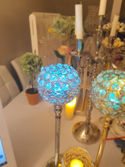 Blue Light Centrepiece