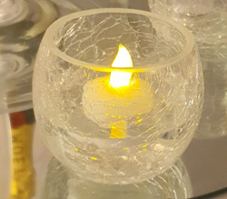Frosty Tealight