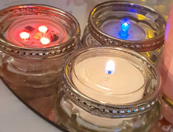 Tealight trio