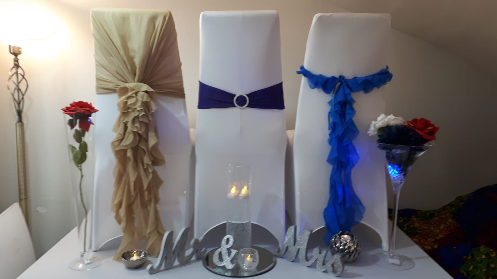 Chair Hoods / Sashes / Chair covers