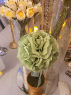 Silk Flower Centrepiece