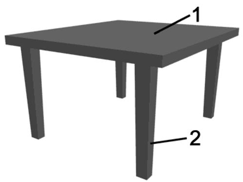 Ein Tisch 1