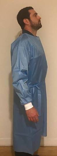Reusable Isolation Gowns Level 3-4