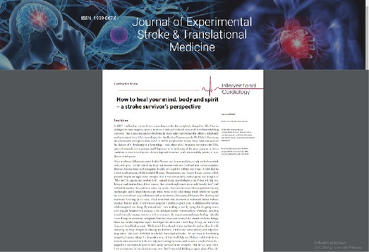 Journal of Experimental Stroke & Translation Medicine