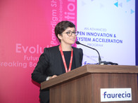 Ms. Souad TENFICHE, CEO Link Innovations at the Novus X.0 inauguration
