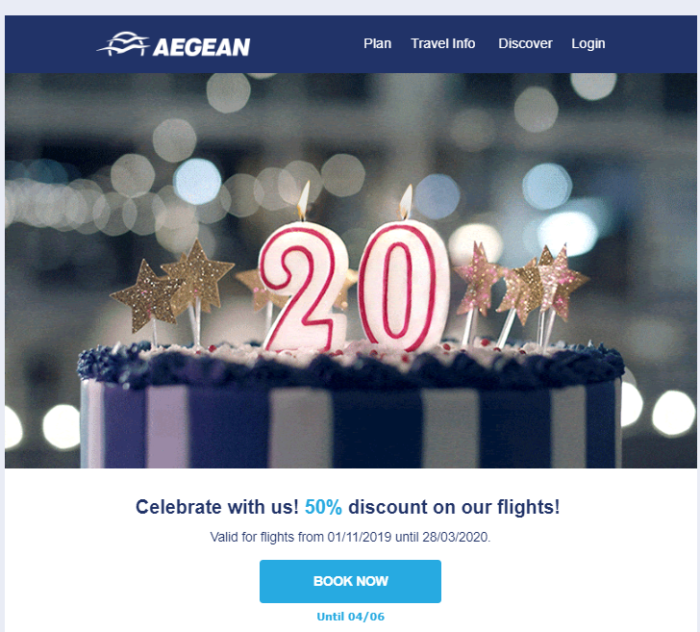 Best BTL campaigns of 2019 - Aegean - Quantastic