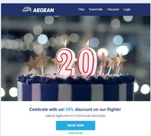 Best BTL campaigns of 2019 - Aegean - Quantastic