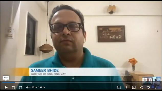 Interview with CTV (Canada TV), Regina, Saskatchewan, Canada