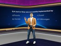 Quiz at Faurecia Mobility Innovation Summit & Producathon 2020