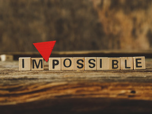 The Art of the possible – Finding possibilities where most people would see none