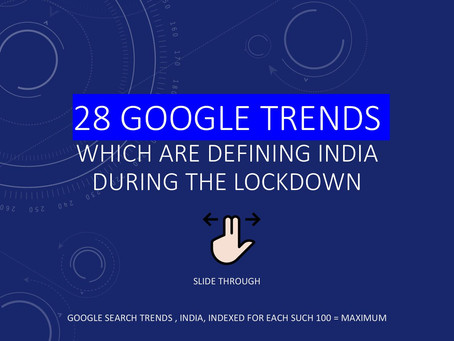 28 GOOGLE TRENDS WHICH DEFINE INDIA DURING THE LOCKDOWN