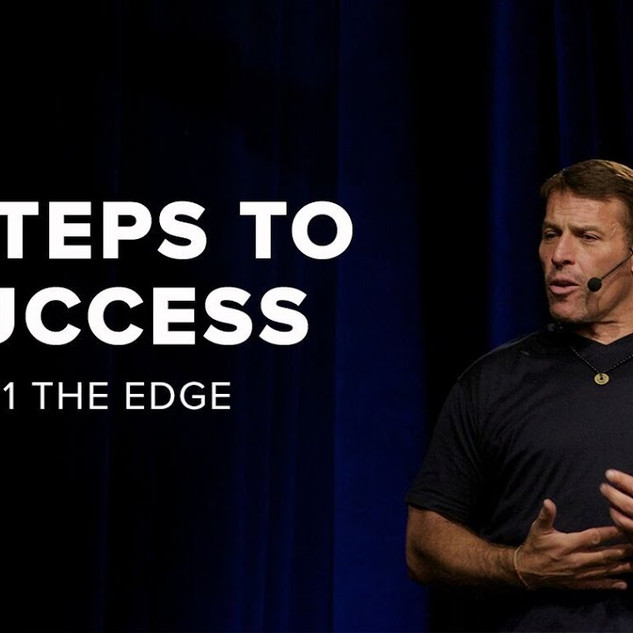 Tony Robbins: The Edge   6 Steps to Total Success