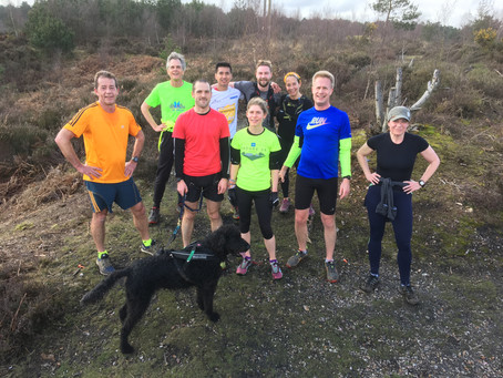 Sunday 11th March Run at Swinley
