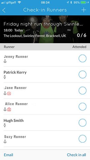 Run Leader App